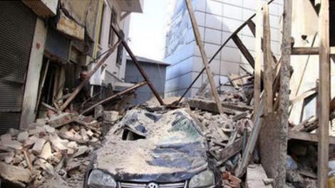 Beyoğlu bina çökmesi
