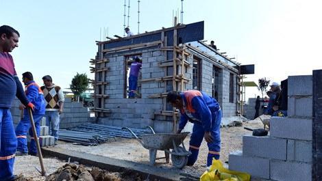 EXPO 2016 Antalya alanına bahçeli Kaleiçi evi inşa ediliyor
