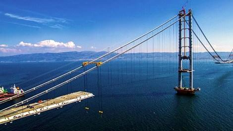 Körfez Geçiş Köprüsü'nün son hali görüntülendi