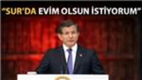 Başbakan Diyarbakır Sur'un dönüşüm planını açıkladı