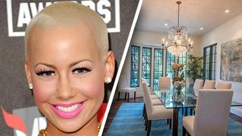 Amber Rose 4 milyon dolara ev aldı