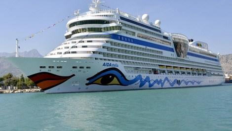 Antalya'da kruvaziyer turizm sezonu açıldı!