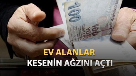 Yeni ev sahipleri tapu için 9,5 milyar lira ödedi