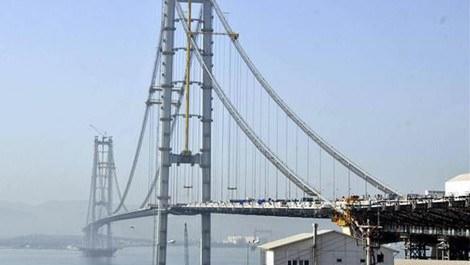 İzmit Körfezi Köprüsü sona yaklaştı