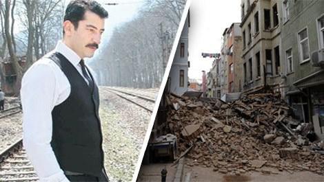 Beyoğlu'nda çöken bina Kenan İmirzalıoğlu'nun çıktı!