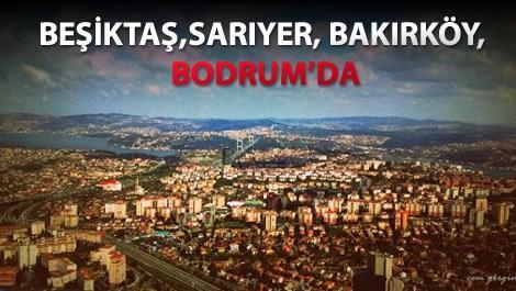 İstanbulun havadan görüntüsü