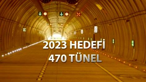 Tünelde hedef İstanbul-Antalya mesafesi!