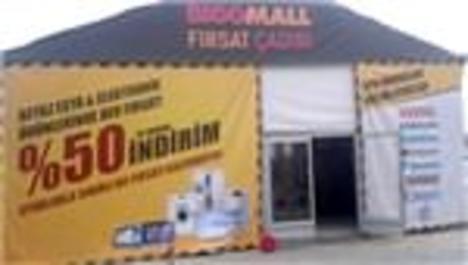Fırsat Çadırı'nda beyaz eşyalar yüzde 50 indirimle satışta!