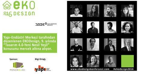 EKODesign Konferansı 26 Nisan'da düzenlenecek