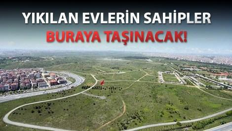 Esenler'deki askeri araziye 50 bin konut yapılacak