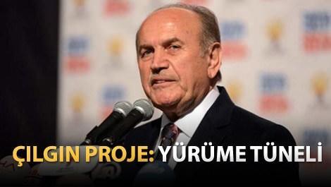 Kadir Topbaş'tan yayalar için tüp tünel projesi!