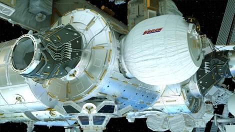 Mars için tasarlanan şişme ev UUİ'de