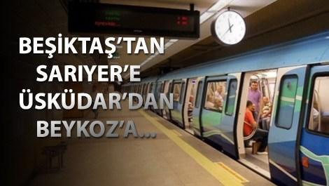 İstanbul'a 8 yeni metro müjdesi!