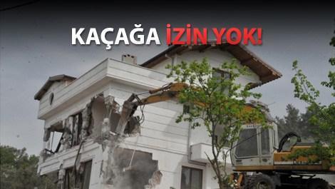 Bursa'daki lüks villa yerle bir oldu!