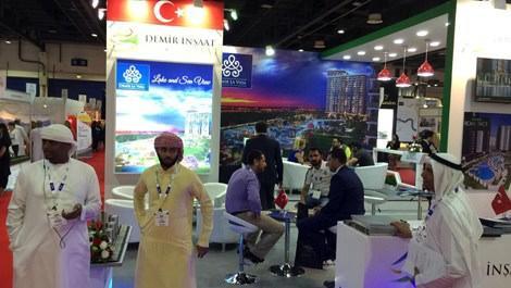 Demir İnşaat'a Dubai'deki fuarda yoğun ilgi!