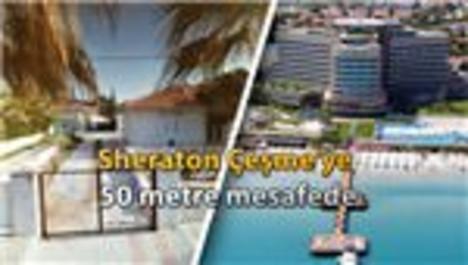 Çeşme Ilıca'da denize sıfır satılık konut!