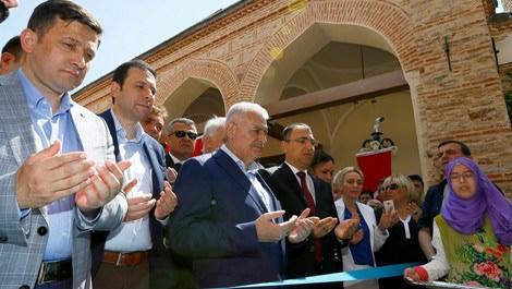 Binali Yıldırım, Hacı Sinan Külliyesi'nin açılışını yaptı!