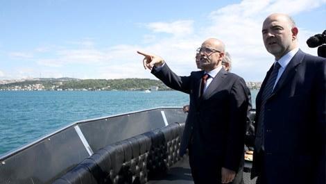 Başbakan Yardımcısı Şimşek, Avrasya Tüneli'ni ziyaret etti