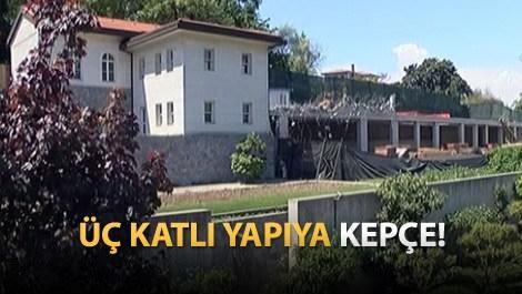 Reza Zarrab'ın Kandilli'deki villasında yıkım!