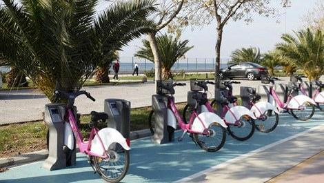Florya-Yeşilköy hattında akıllı bisiklet dönemi