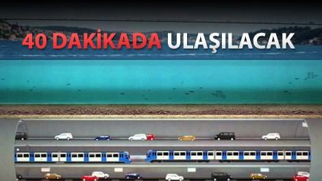 Büyük İstanbul Tüneli'nde geri sayım başladı