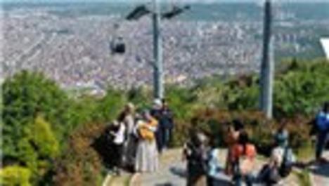 Boztepe, turistlerin yeni gözdesi oldu