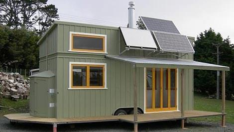Tekerlek üzerinde bir eviniz olsun ister misiniz?