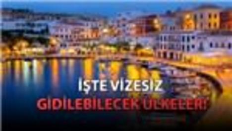 Vizesiz seyahatte Türkiye için olumlu karar çıktı!