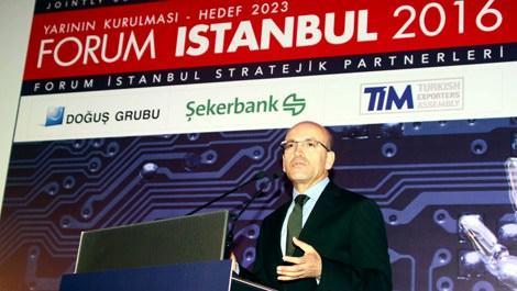 Forum İstanbul'un 2. günü Mehmet Şimşek'in konuşmasıyla başladı