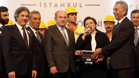 Piyalepaşa İstanbul'un inşaatına start verildi