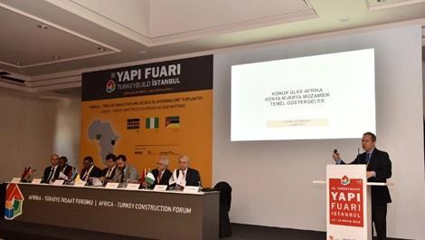 Türk inşaat malzemeleri sektörü Afrika'ya yöneldi