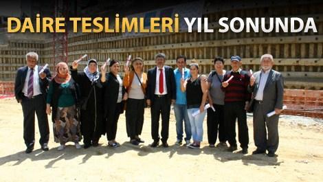İstanbul 216'nın 1. etap tapu teslimleri yapıldı
