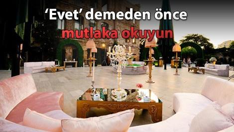 Türkiye'nin en iyi 10 düğün mekanı!
