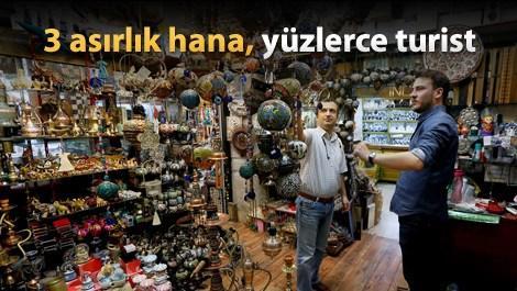 Osmanlı hanı turizme hizmet ediyor