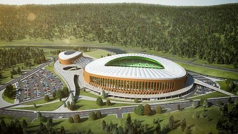 Giresun'un yeni stadı