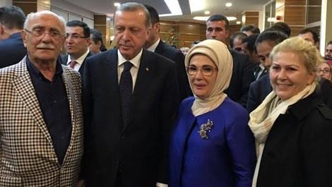 İbrahim Dumankaya, Cumhurbaşkanı Erdoğan ile bir araya geldi