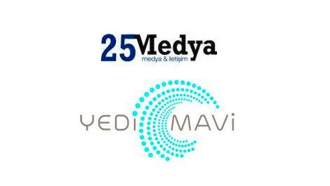 Yedi Mavi, 25 Medya İletişim ile anlaştı