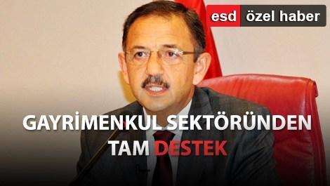 Sektör, Mehmet Özhaseki'ye çok güveniyor!