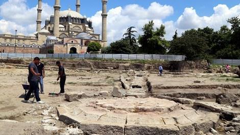 Edirne'de Mimar Sinan'ın yaptığı su yolu bulundu!