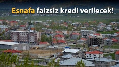 Yüksekova yeniden inşa edilecek!