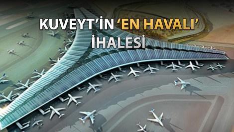 Kuveyt Uluslararası Havalimanı Yeni Terminali inşaatı