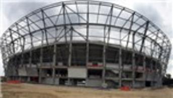 Yeni Adana Stadı'nın yüzde 47'si tamamlandı