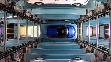 Parkolay teknolojili tam otomatik otopark açıldı