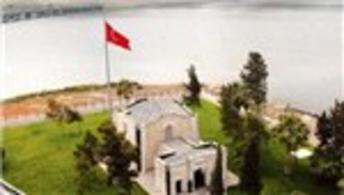 Süleyman Şah Türbesinin eski yeri ilk kez görüntülendi