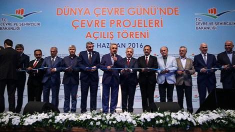 """""""Dünya Çevre Günü'nde Çevre Projeleri Açılış Töreni yapıldı"""