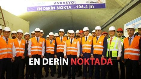 Trafiği bitirecek proje Avrasya Tüneli'nde sona doğru!
