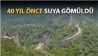 Çin Seddi'nin 'kaybolan' kısmı ortaya çıktı