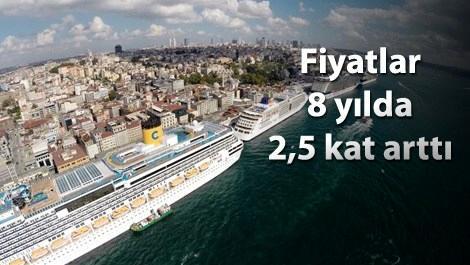 Karaköy'de emlak Galataport'la zirveye koşuyor