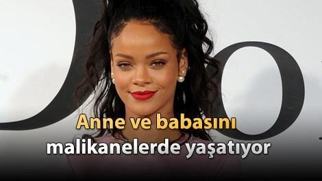 Rihanna, babasına malikane satın aldı!