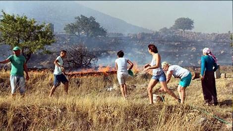 Bodrum'daki yangın kontrol altına alınamadı!